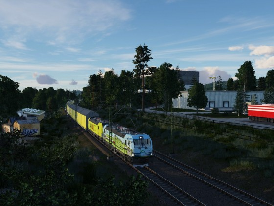 Mal wieder wat neues aus dem Zugverkehr: