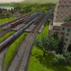 Bahnhof Fairford von Osten
