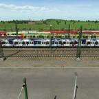 Hier die fehlende BR 423 111-4 S-Bahn München EHC Red Bull München