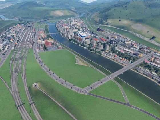 Neustadt noch in Bau