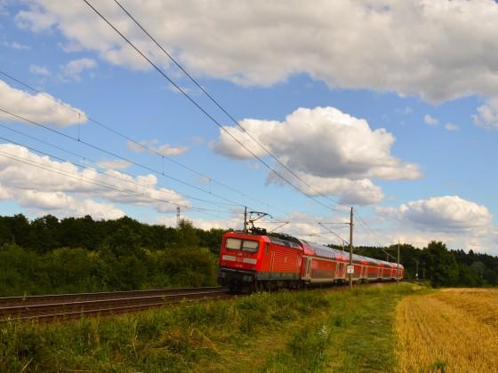 112 auf dem RE1 Hamburg Schwerin bei Müssen
