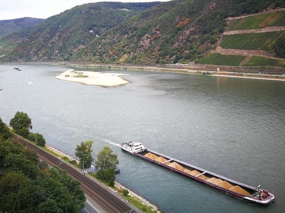 Schiffe im Oberen Mittelrheintal