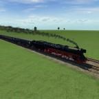 BR05 auf freier Fahrt