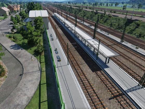 Überblick Bahnhof, SFS und Rangierbahnhof