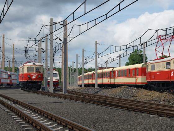 Der St. Pöltener Alpenbahnhof im Jahr 2011 (noch im Arbeit)