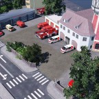 Neue Feuerwehr Station