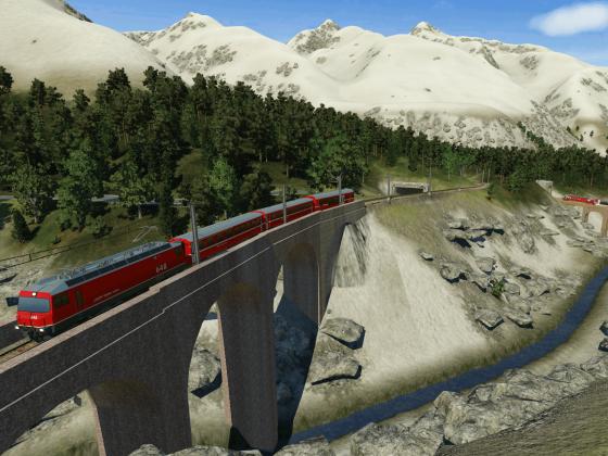 Brücken im Bündnerland