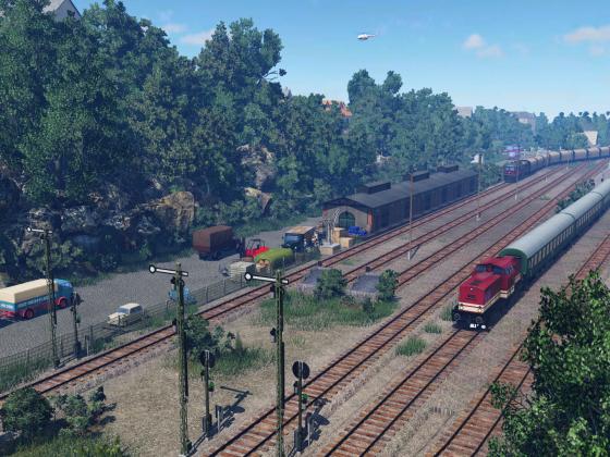 Unser Stadt-Bahnhof im Wandel der Zeit (früher)