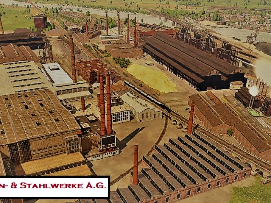 Hillscheider Eisen- & Stahlwerke A.G. - Postkartenstil