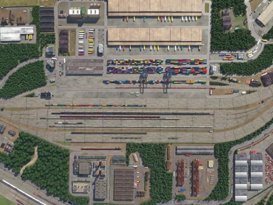 Güterbahnhof Freifeld