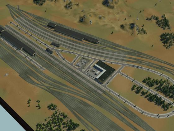 Train Yard 2.0 / Cargo Hub WIP
