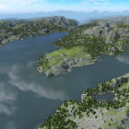 Das Land der 1000 Berge (meine fiktive Sauerlandmap)
