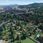 Kleingärten am Südkreuz & Skyline