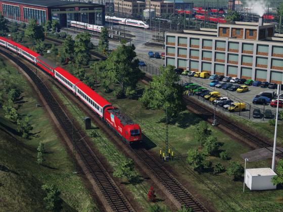 Eurocity nach Verona