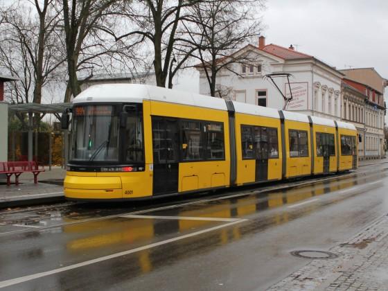 Flexity auf abwegen in Strausberg