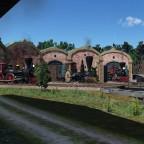 Train depot, USA 1850s #3