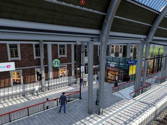 Im Bahnhof Den Haag HS