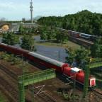 Seehausen - DB Netz Notfalltechnik auf Kontrollfahrt