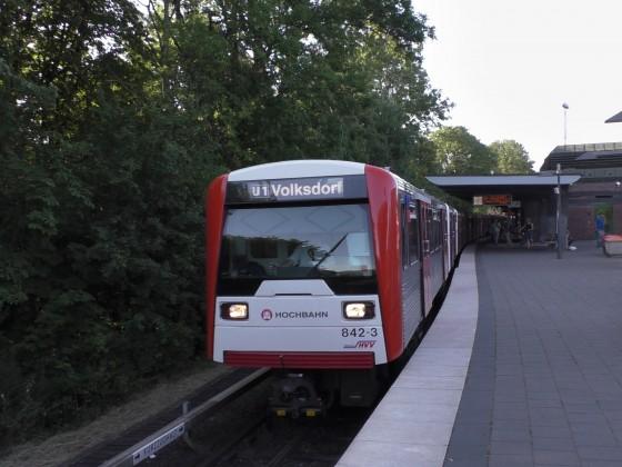 Anderes Ende - DT3N 842 in Ohlsdorf