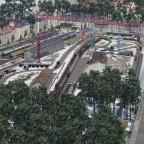 Der Mittelpunkt ist die Eisenbahn