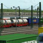 Baumaterial und Container