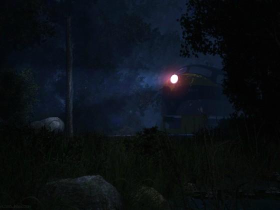 Ghost in a night fog...