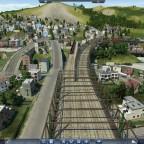 Ahlsdorf Güterüberführung mit S-Bahnstrecke