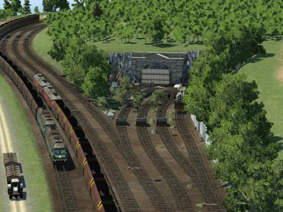 Der Transport aus der Mine läuft nicht wie geplant...