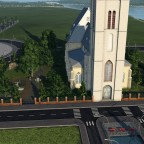 Kirche mit Anliegenden Friedhof