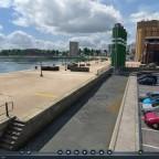 Frachthafen und Hafenbehörde