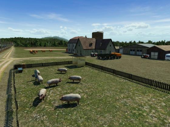 Bauernhof bei Baden