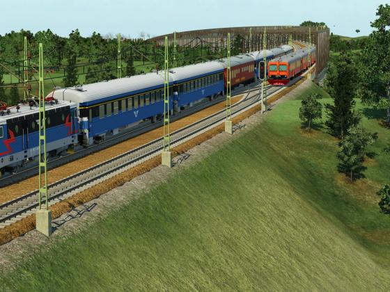 Swedish Intercity and Regional train