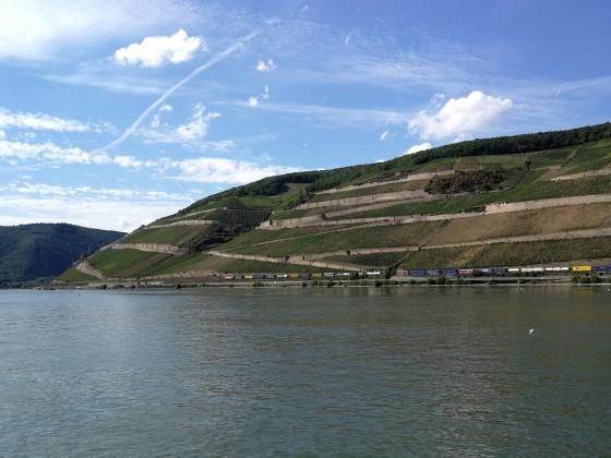 Züge im Oberen Mittelrheintal