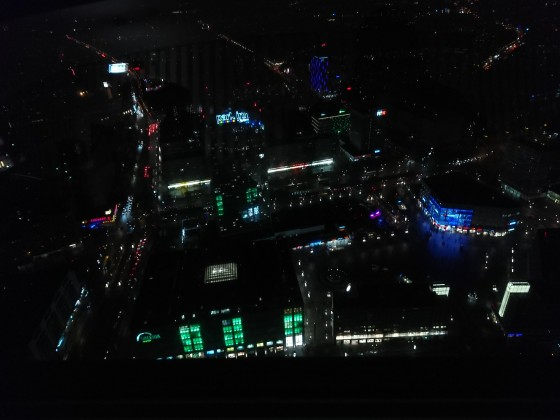 Blick aus dem Fernsehturm