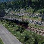 Strecke Auen - Binsdorf