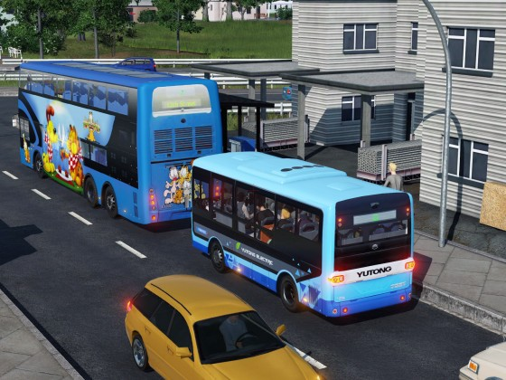 [MOD preview] Yutong-E6 commuter electric bus