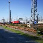 Frankfurt Hbf - Gleisvorfeld von Süden