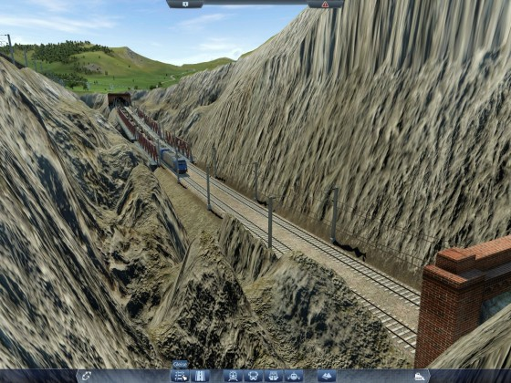 Zweite Strecke durch Steinbruch 02