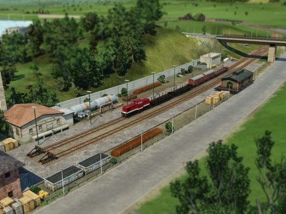 Kleiner Güterbahnhof 1