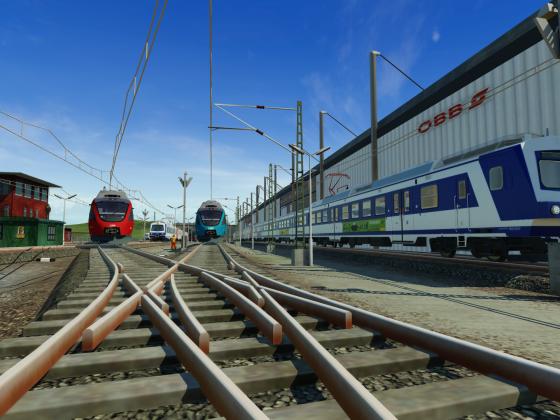 S-Bahn Betriebsbahnhof