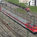 DB Autozug auf der Durchreise