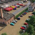 Industrie in Freifeld