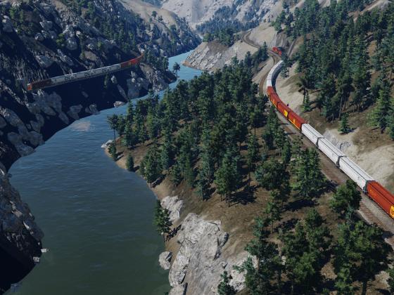 CN & CP Grain Trains 2
