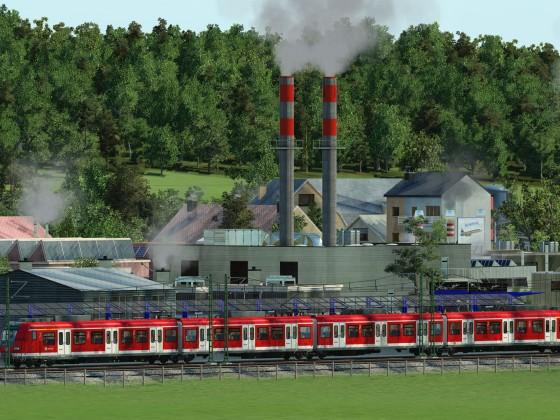 Wunschhalt: Industriepark / Request stop: Industrial Park
