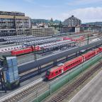 Neuer Bahnsteig am Schwansteiner Hauptbahnhof