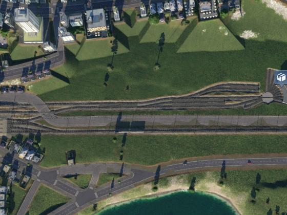 Der neuer Abschnitt in Ober-Grafendorf