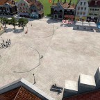 ein Blick auf den Marktplatz von Delft