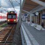 Bahnbetrieb in Chatelat