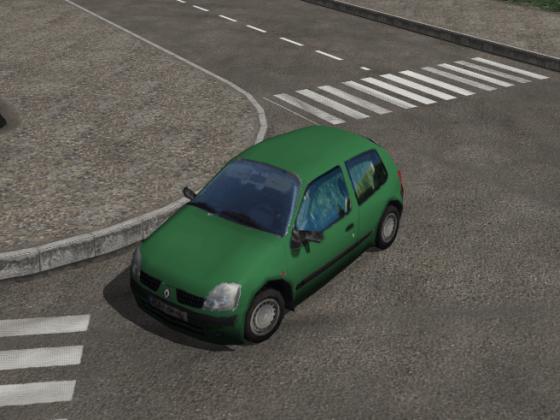 Clio mod V1.0 again little correction for green car ;)