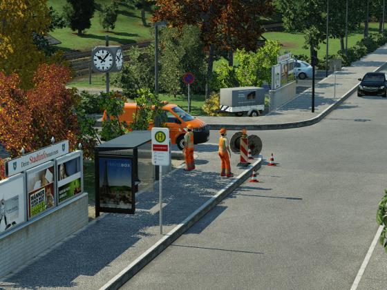 Ein wenig Kleinstadtflair